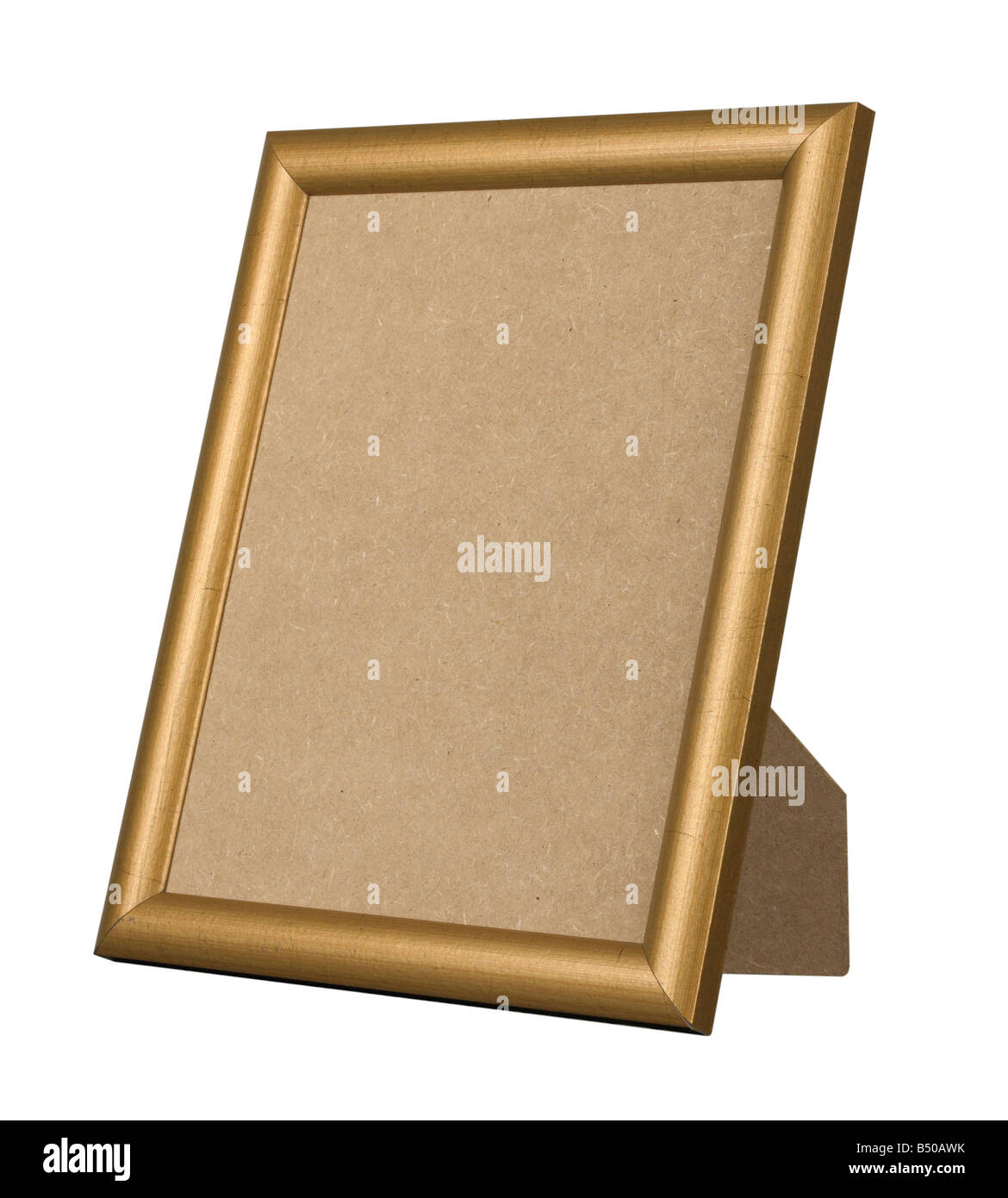 picture frame gold gilt wood stand standing stock photo 20292207 alamy. Black Bedroom Furniture Sets. Home Design Ideas