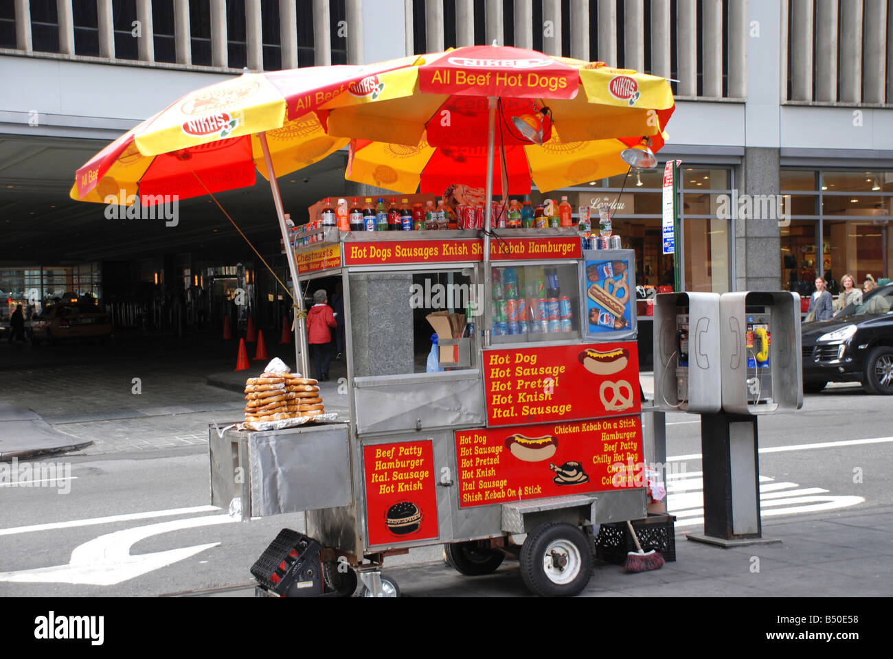 Selling Hot Dogs On The Street Uk