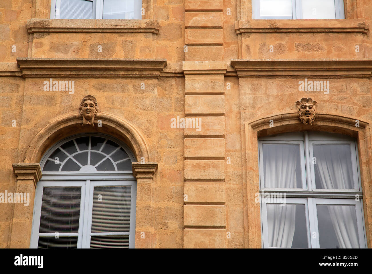 Architecture in mirabeau, aix en provence, france - Stock Image
