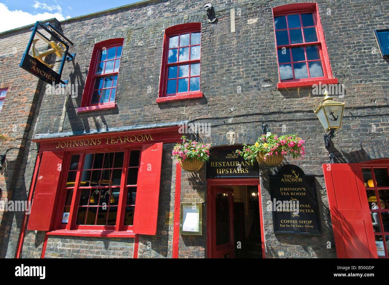 Johnson s Tearoom London England United Kingdom - Stock Image