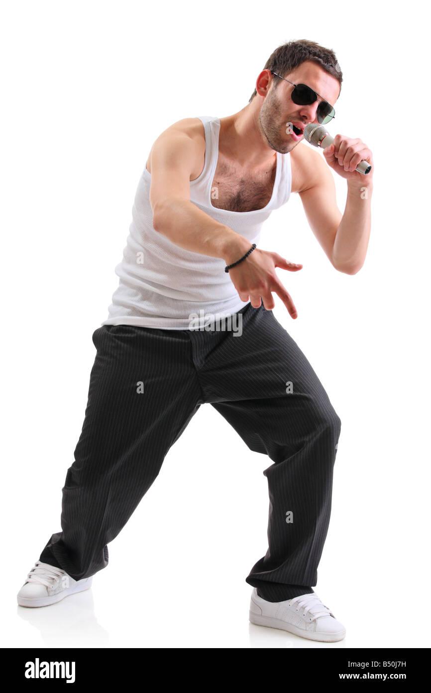 Hip hop artist - Stock Image
