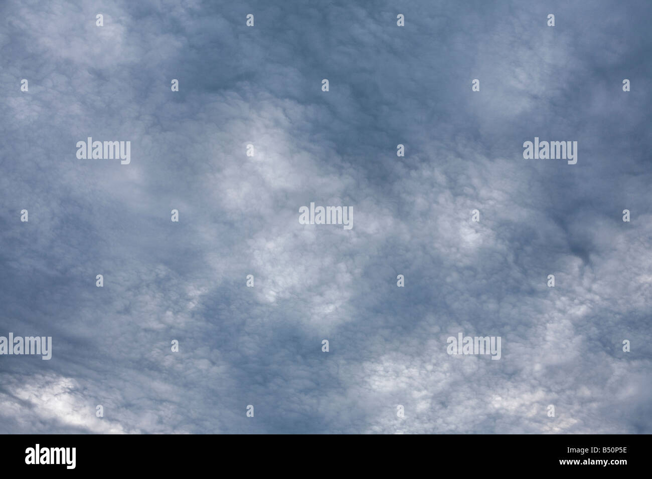 Clouds on an Occluded front - Stock Image