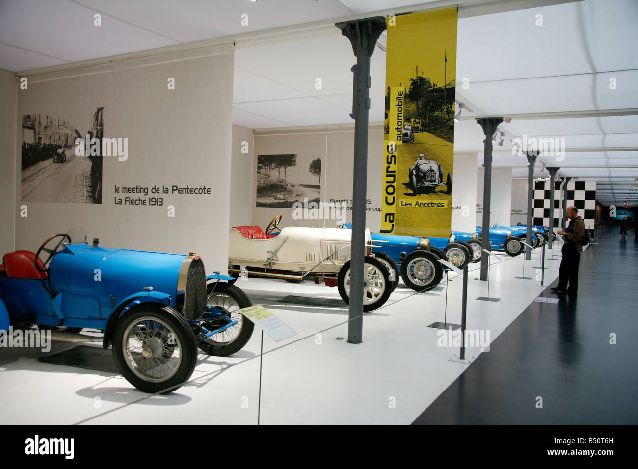 Sep 2008 - Musee National de l Automobile Mulhouse Alsace France - Stock Image