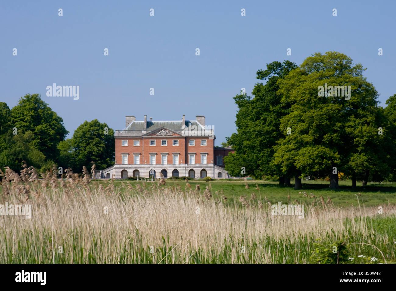 Wolterton Hall near Aylsham, Norfolk, England - Stock Image