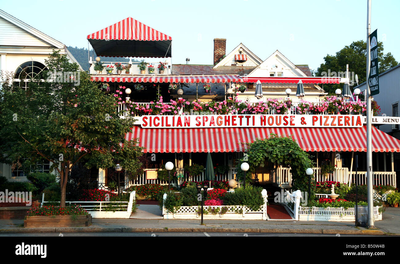 An Italian Restaurant In Lake George New York Adirondack State Park