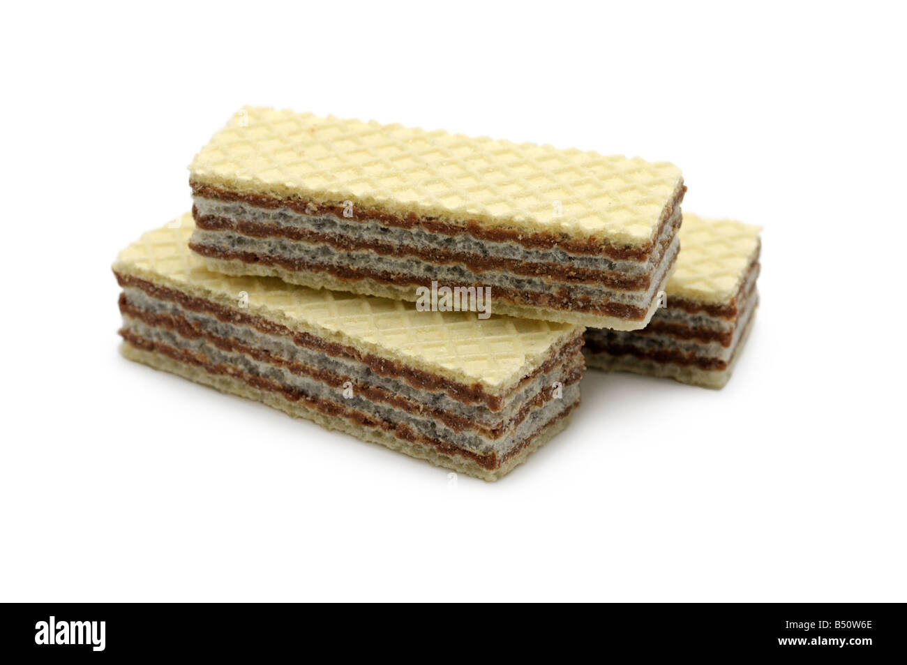 Wafers - Stock Image