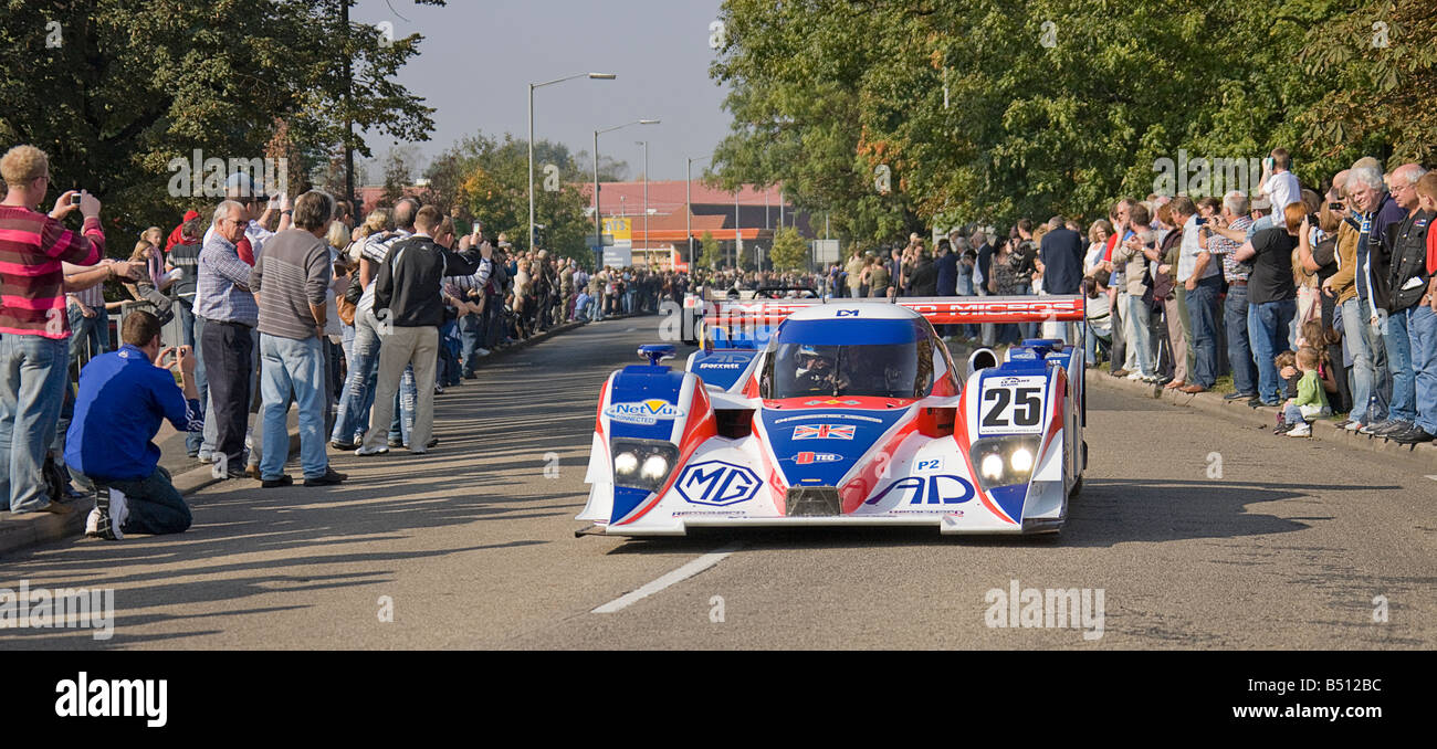 Lola racing cars on Parade during Lola\'s 50th Anniversary in Stock ...