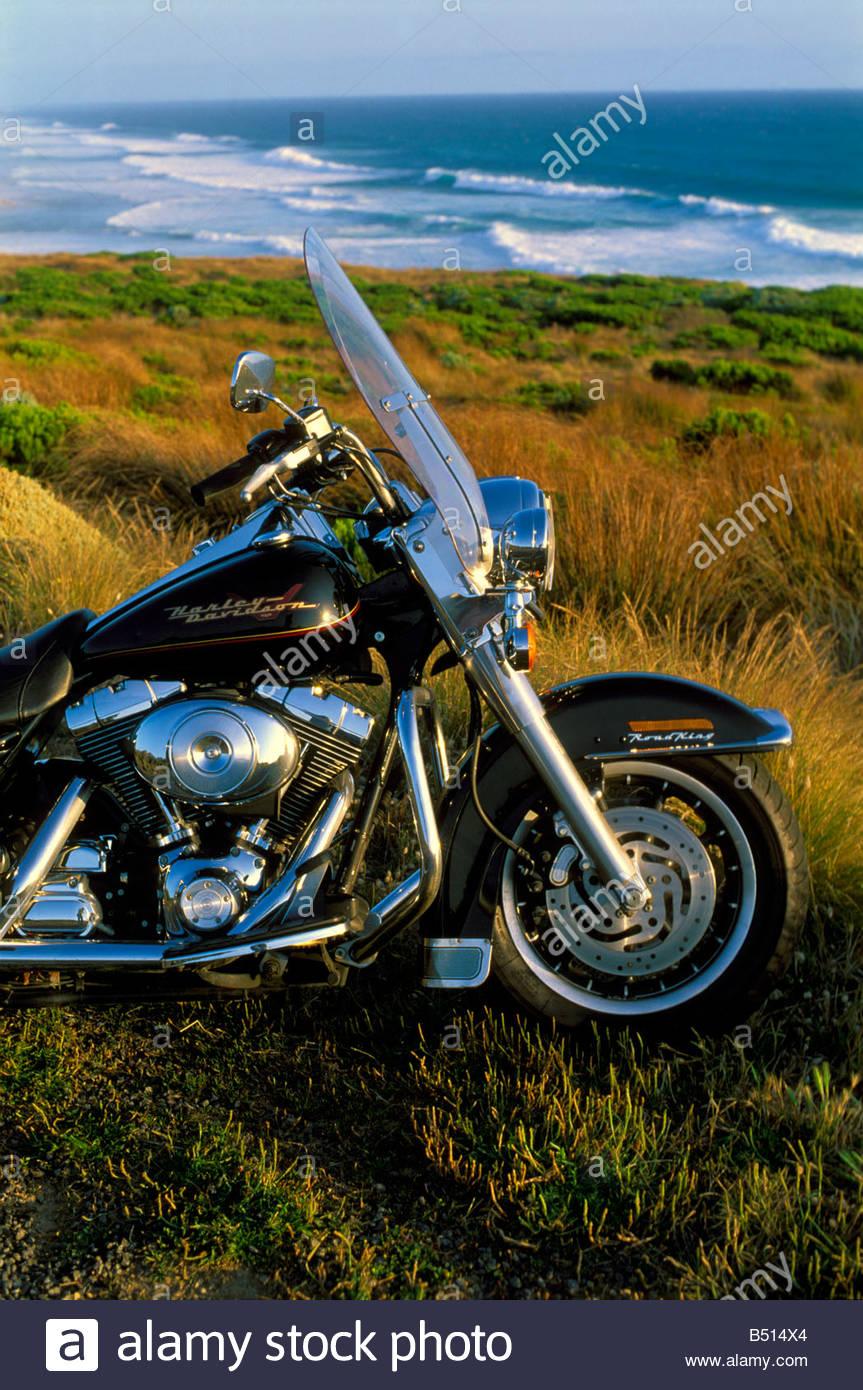Harley-Davidson Road King motorcycle at the