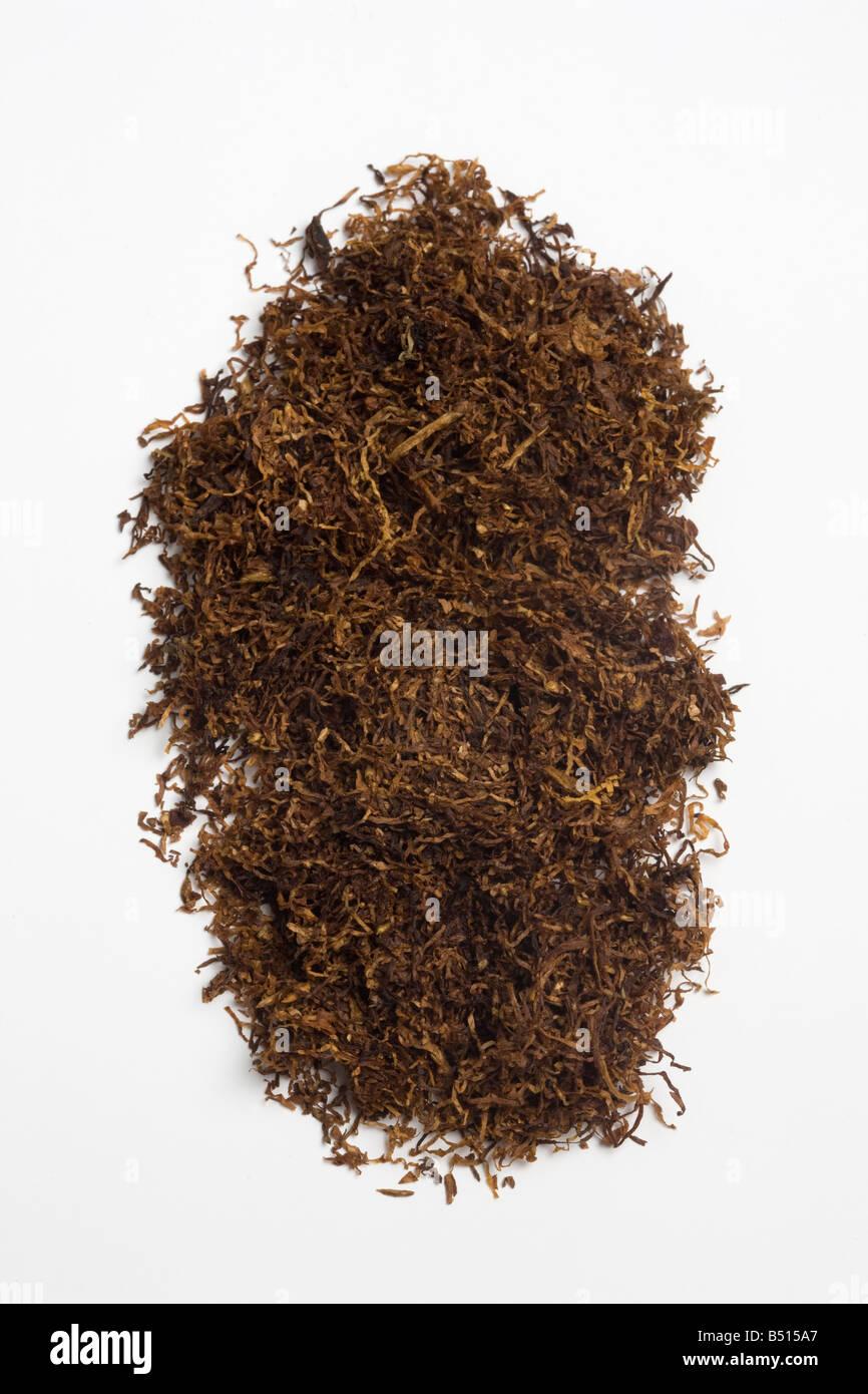 Hand Rolling Cigarette Tobacco - Stock Image