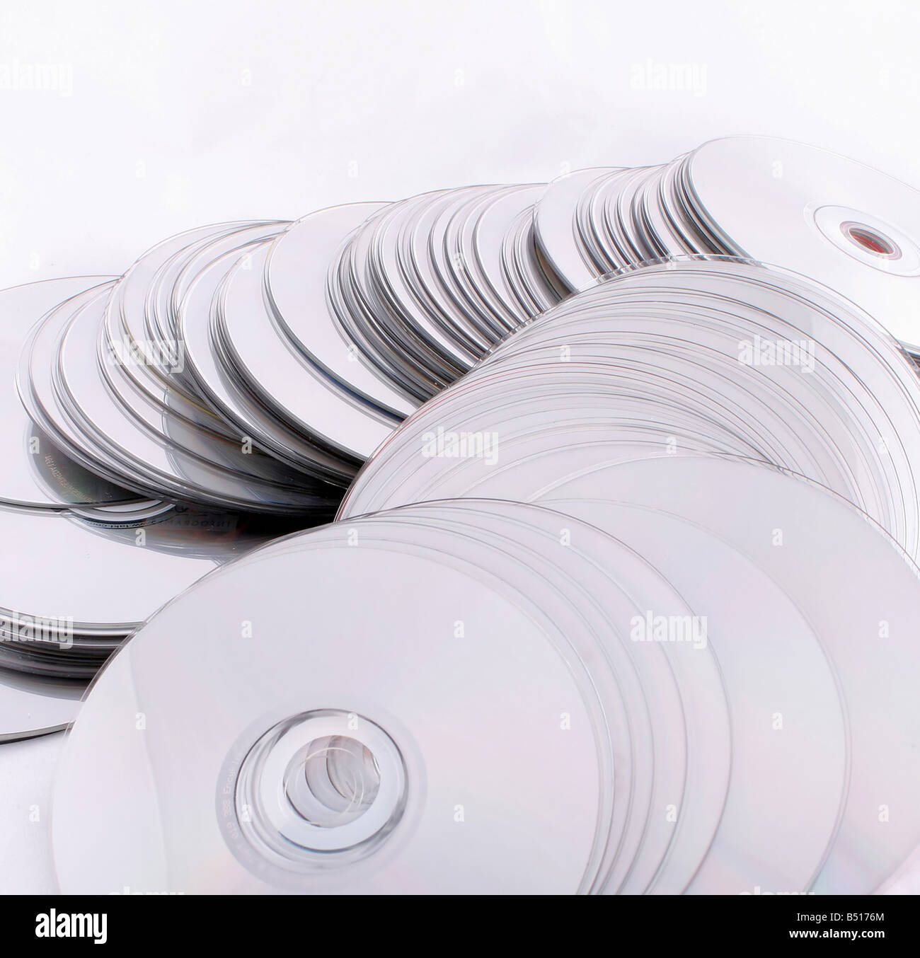 cd and dvd discs computers technology it - Stock Image