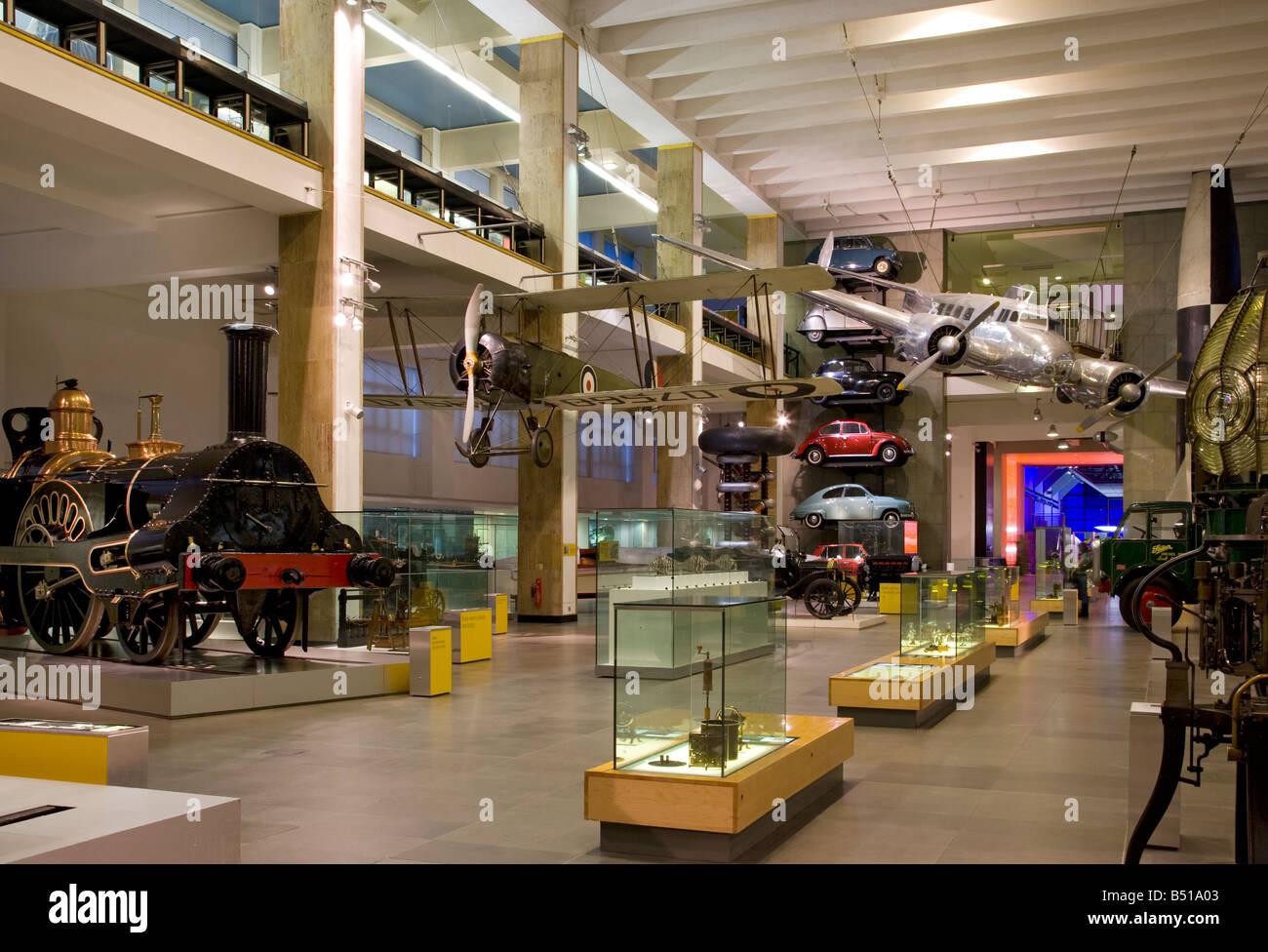 science museum London , England. - Stock Image