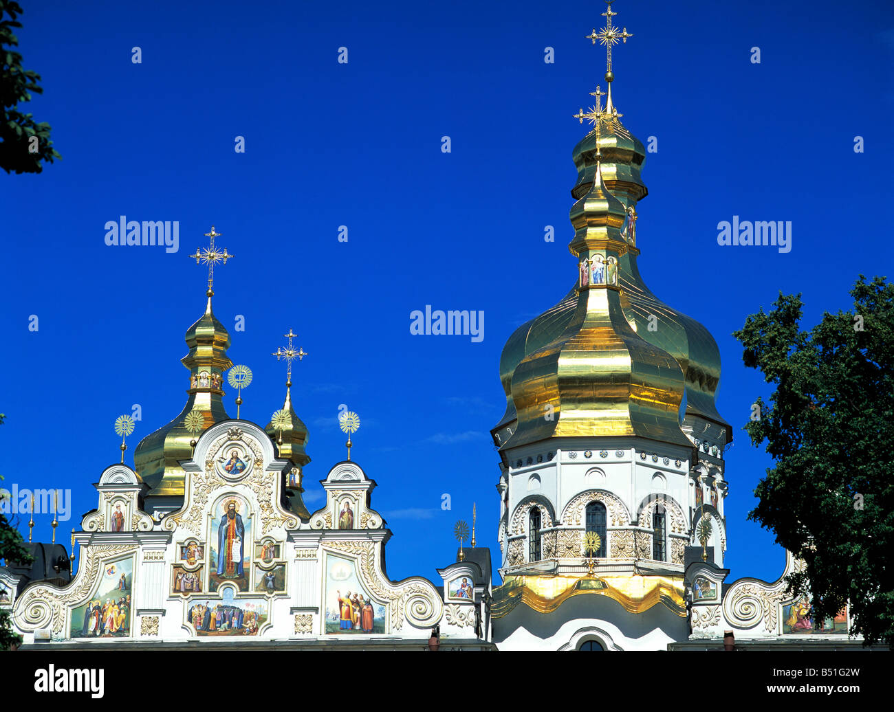 Church of the Assumption, Lavra, Kiev, Ukraine - Stock Image