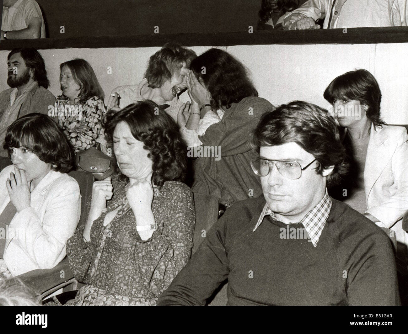 Pictures taken during the first screening of Sci Fi film Alien at the Odeon Theatre in Leicester Square showing Stock Photo