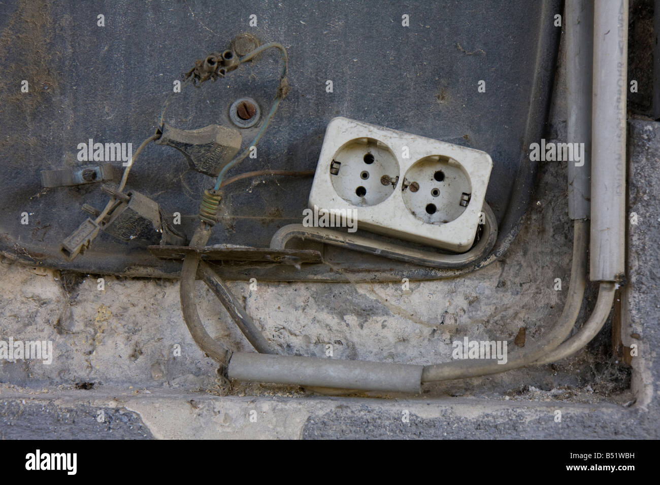 old power outlet Stock Photo: 20325525 - Alamy