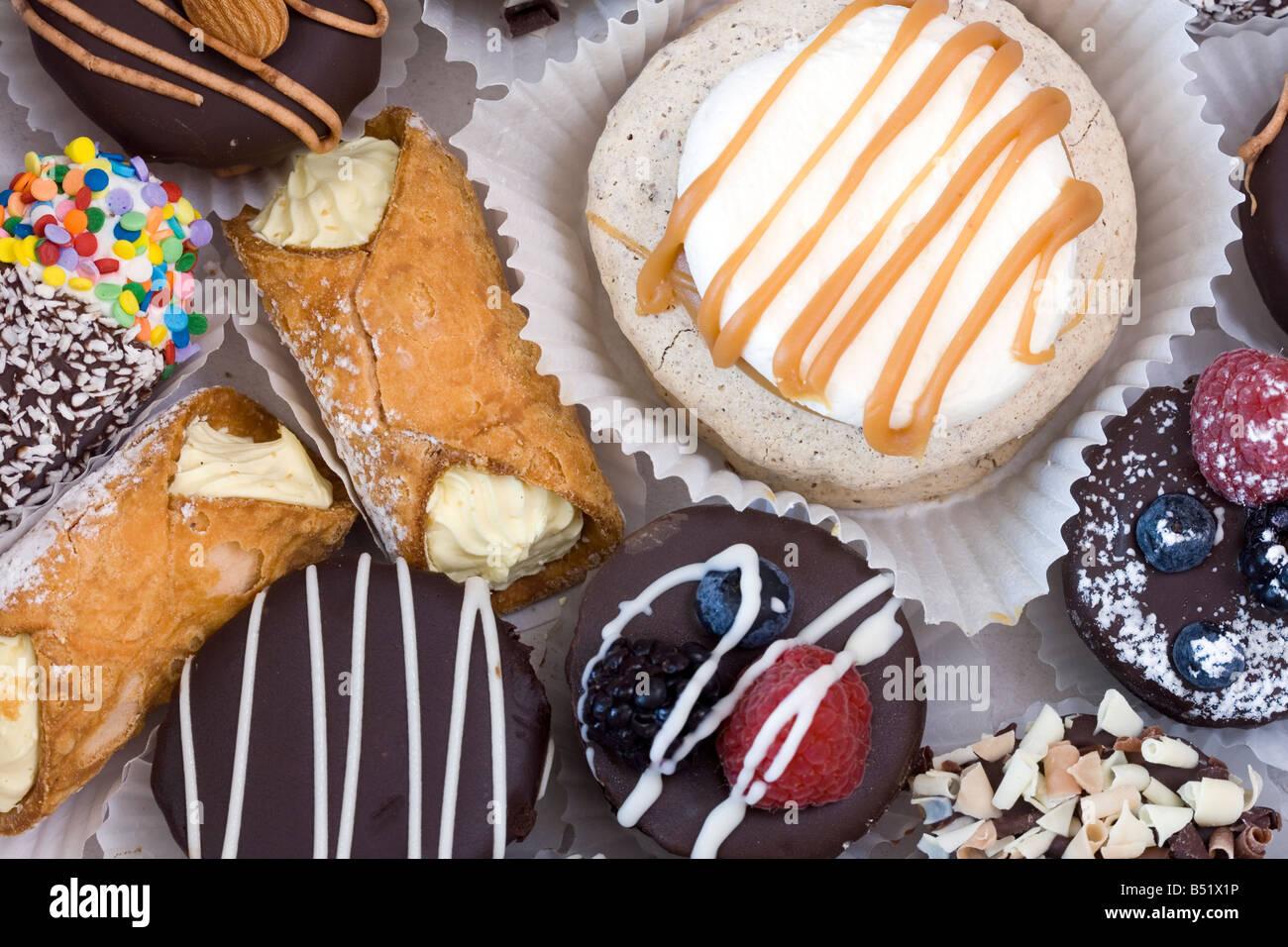 cakes background - Stock Image