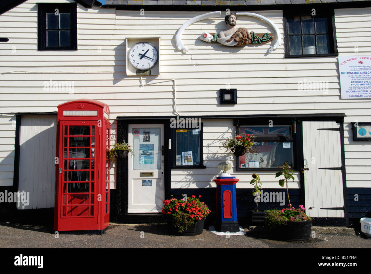 The Old Lifeboat House Broadstairs Kent England - Stock Image