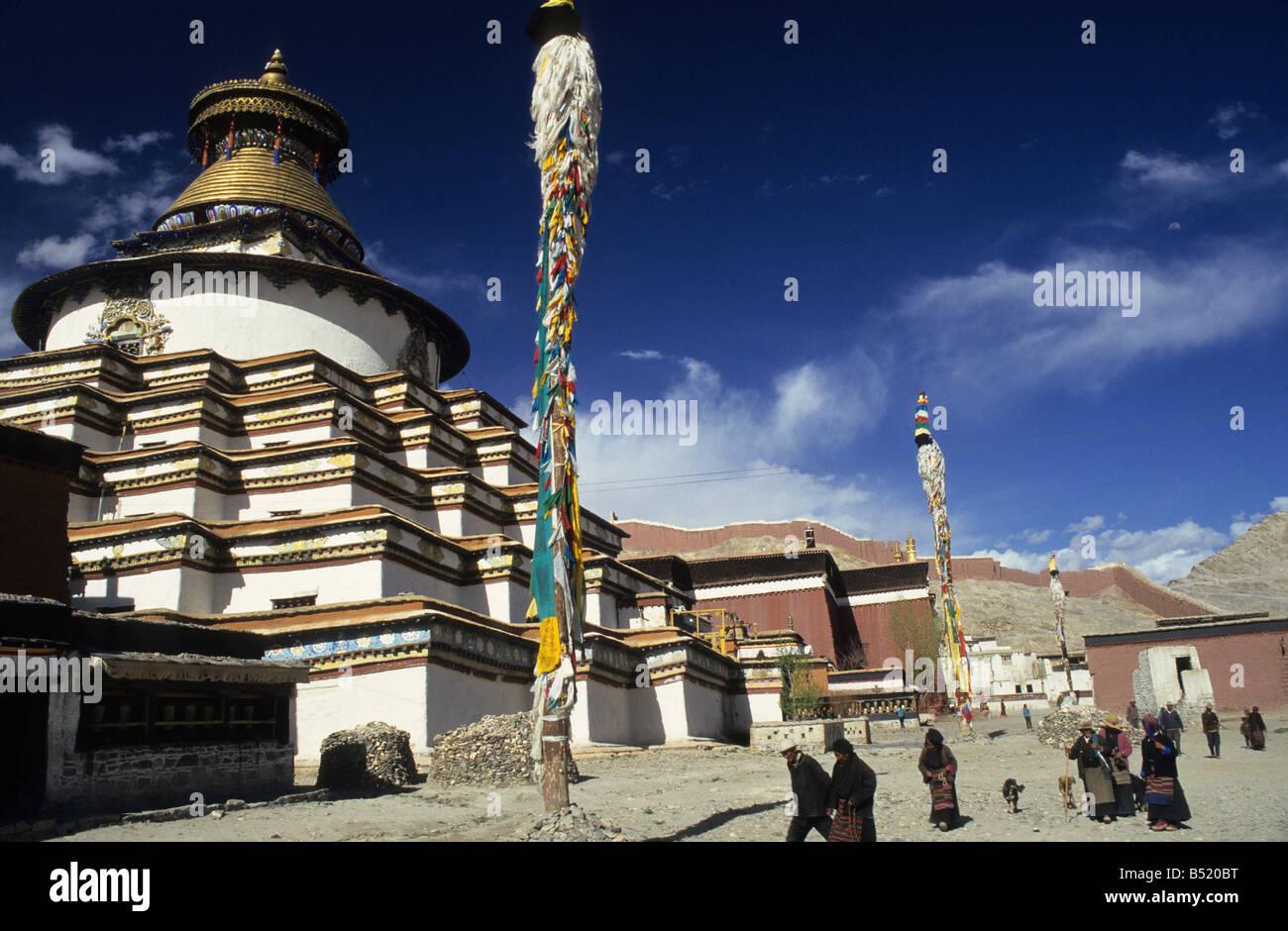 Asia, China, Tibet - Stock Image