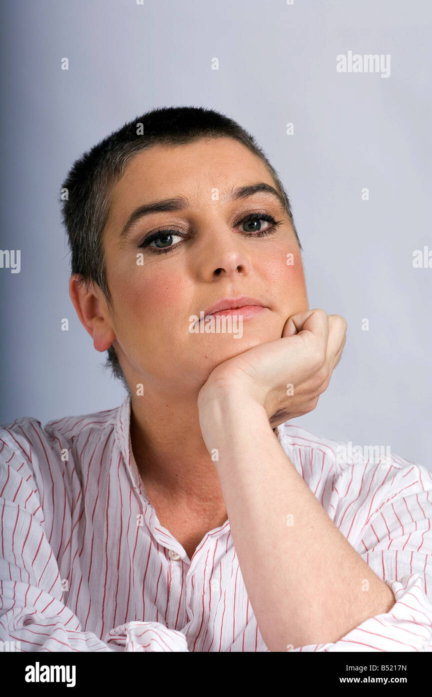 Sinead O'Connor photographed May 2007. - Stock Image