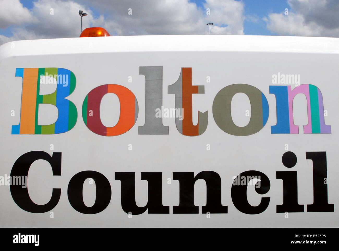 Bolton Council - Stock Image