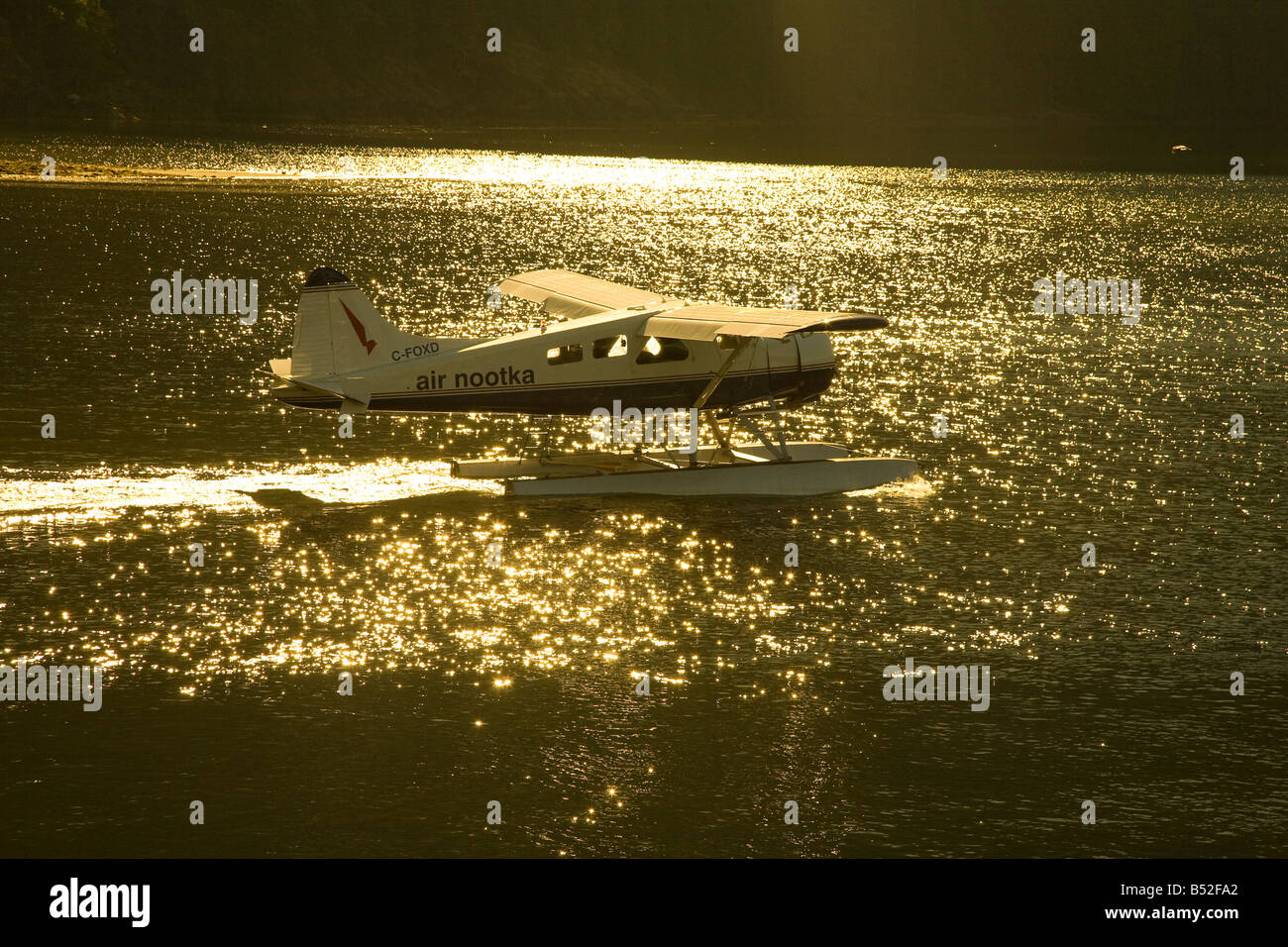 Nootka Air Gold River Vancouver Island British Columbia Canada - Stock Image