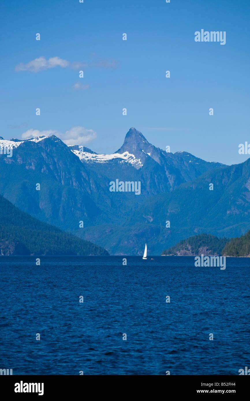 Desolation Sound British Columbia Canada - Stock Image