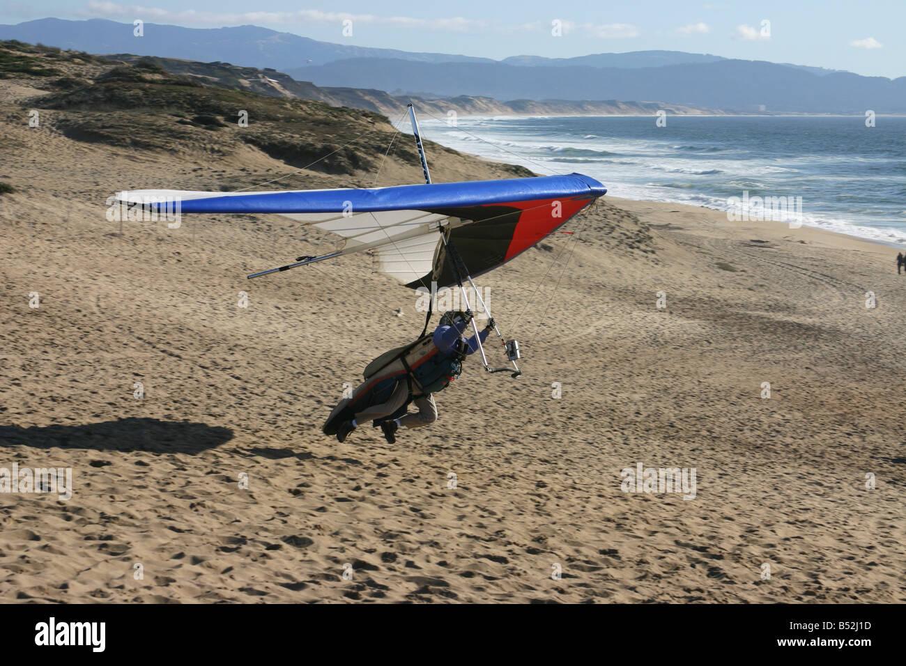 Hang Glide I - Stock Image