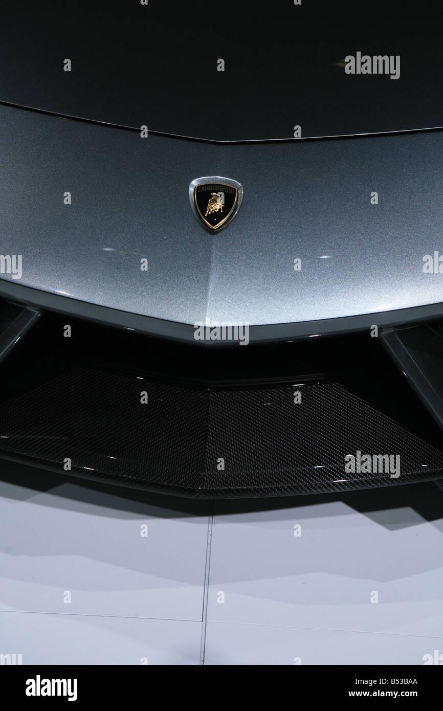 Lamborghini Reventon 4 Door Saloon At The Paris Motor Show Salon  Du0027automobiles   Stock