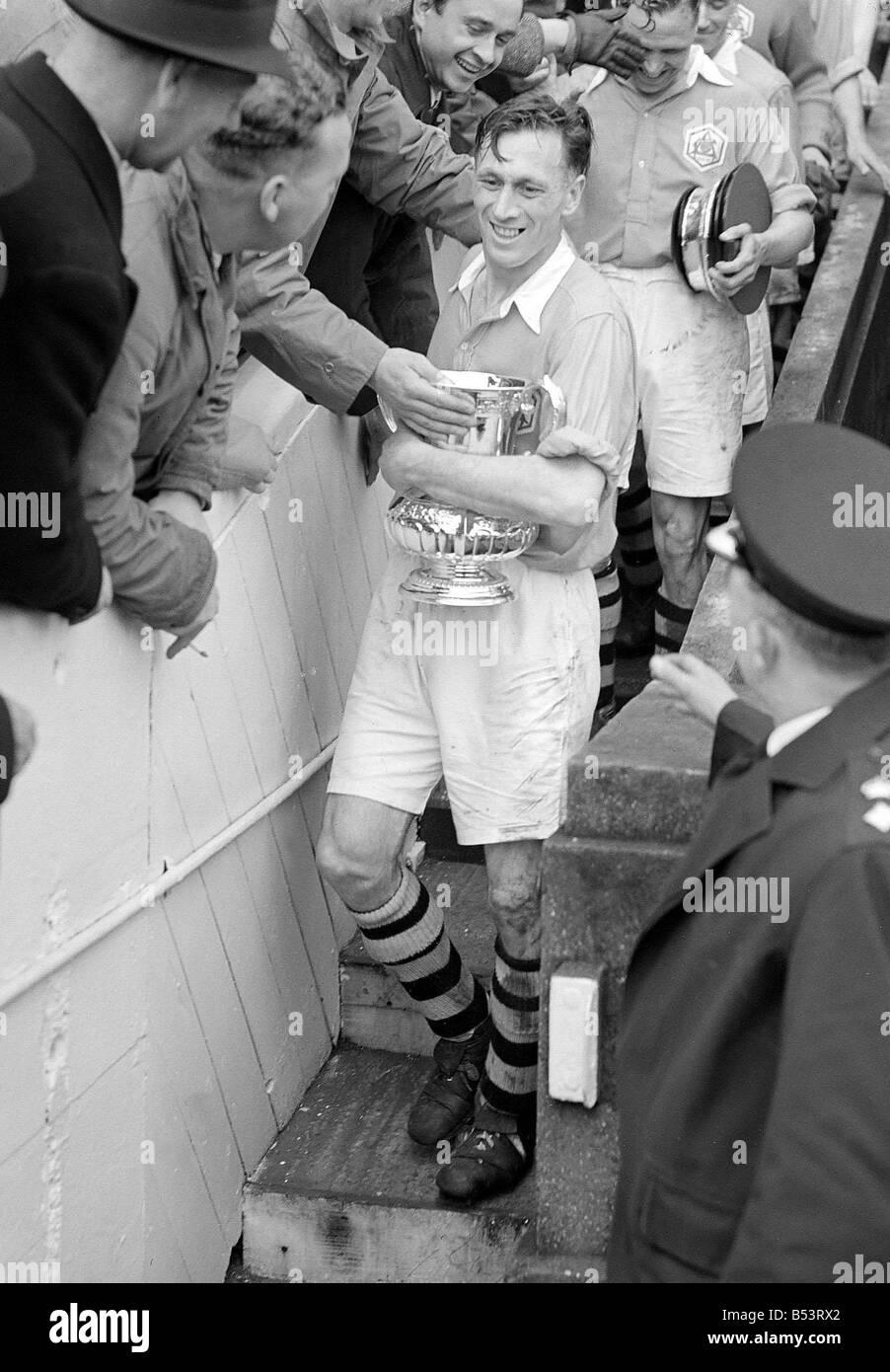 DM 023836 12 1950 Joe Mercer Wembley Stadium - Stock Image
