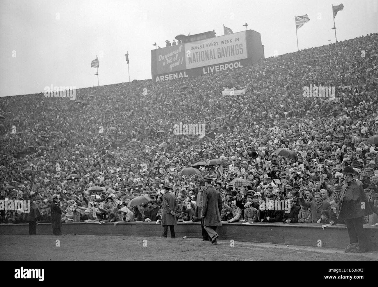Arsenal v Liverpool FA Cup Final Wembley 1950 DM 023836 16 1950Stock Photo