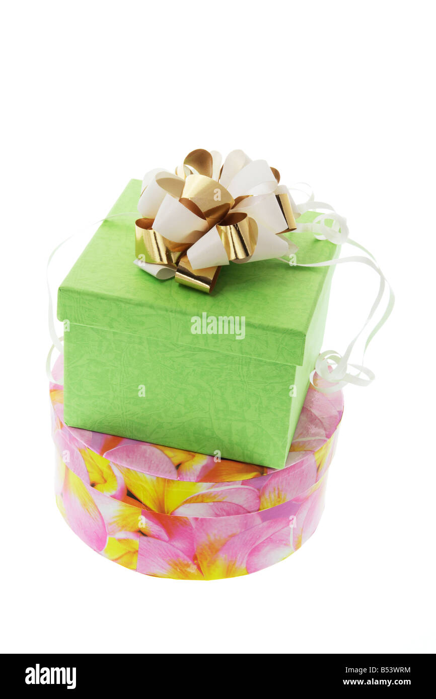Gift  Parcels - Stock Image