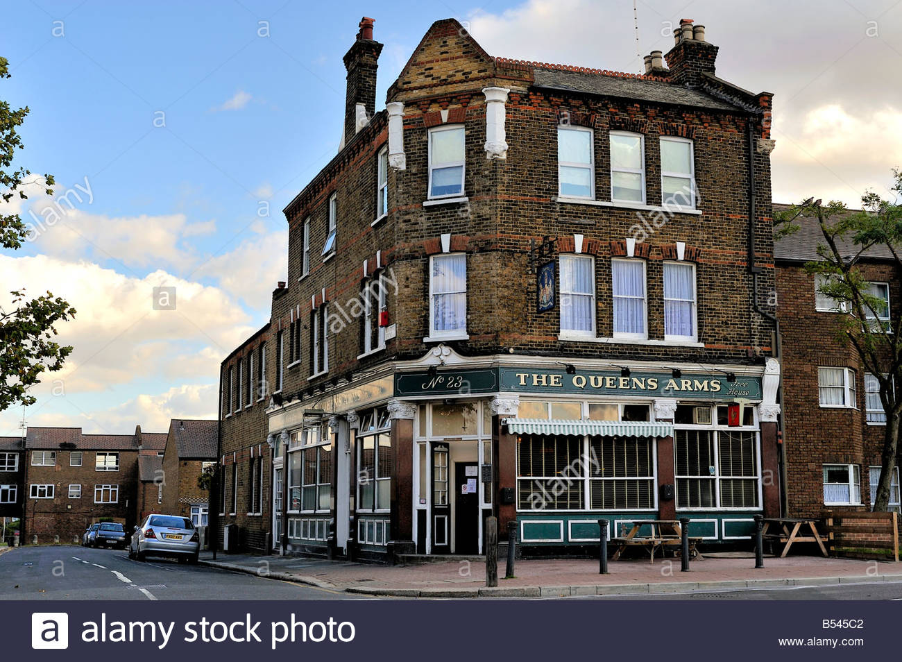 A typical London pub - Stock Image