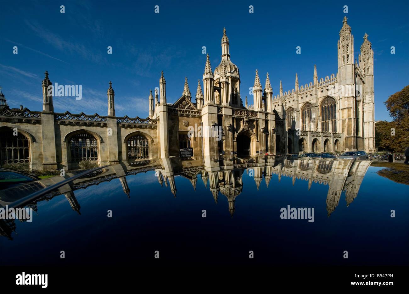 Cambridge University Kings College Cambridge Britain  2008 - Stock Image