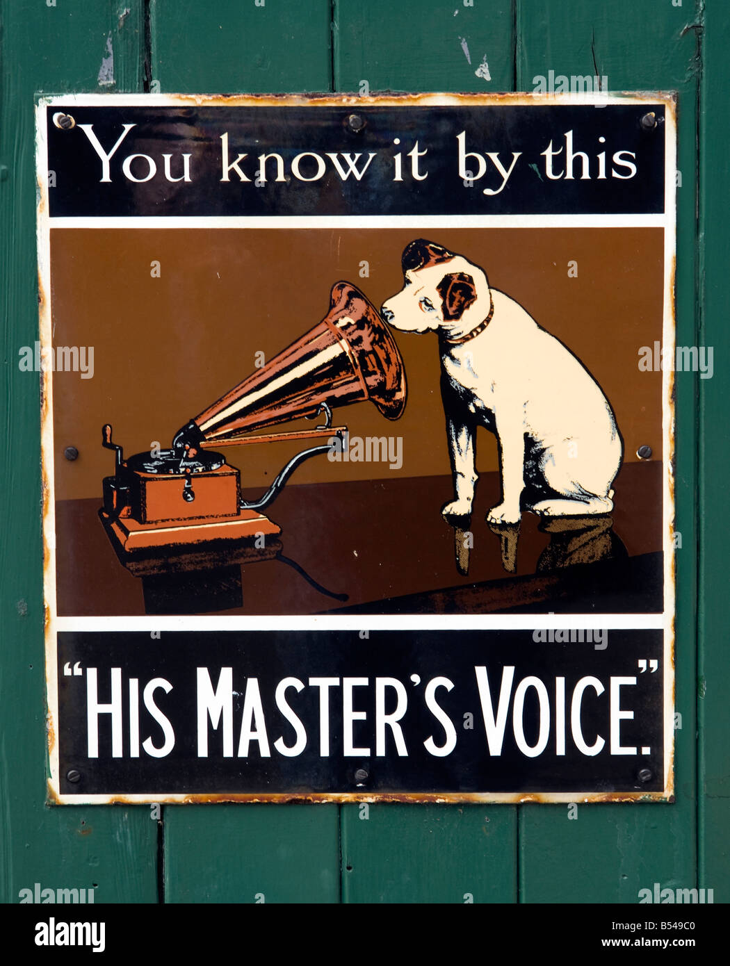 Old Hmv Record Stock Photos Old Hmv Record Stock Images Alamy