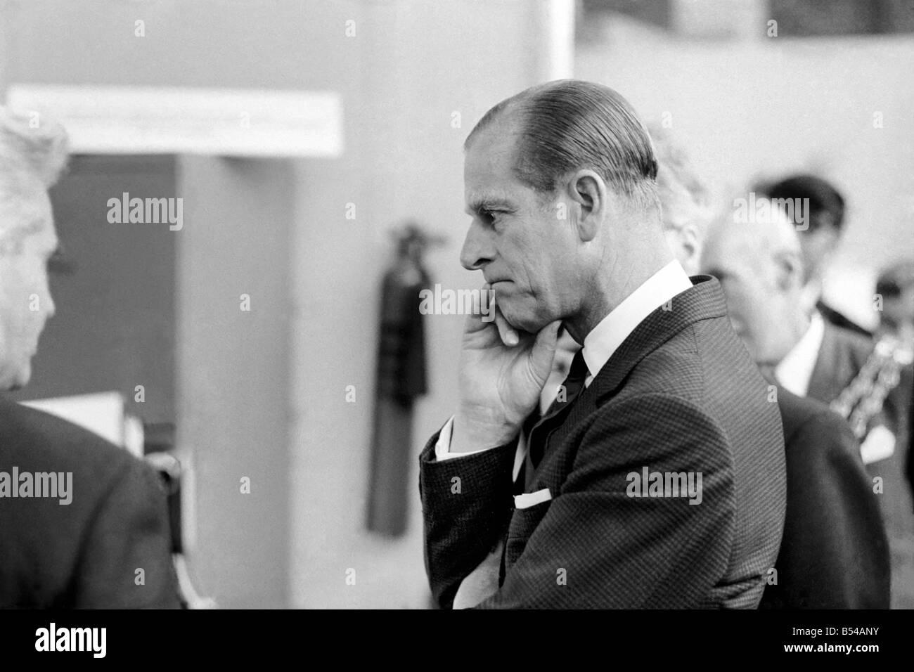 Royalty. Prince Philip, Duke of Edinburgh. Z10862-001 - Stock Image
