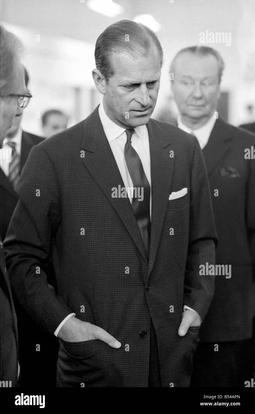 Royalty. Prince Philip, Duke of Edinburgh. Z10862 - Stock Image