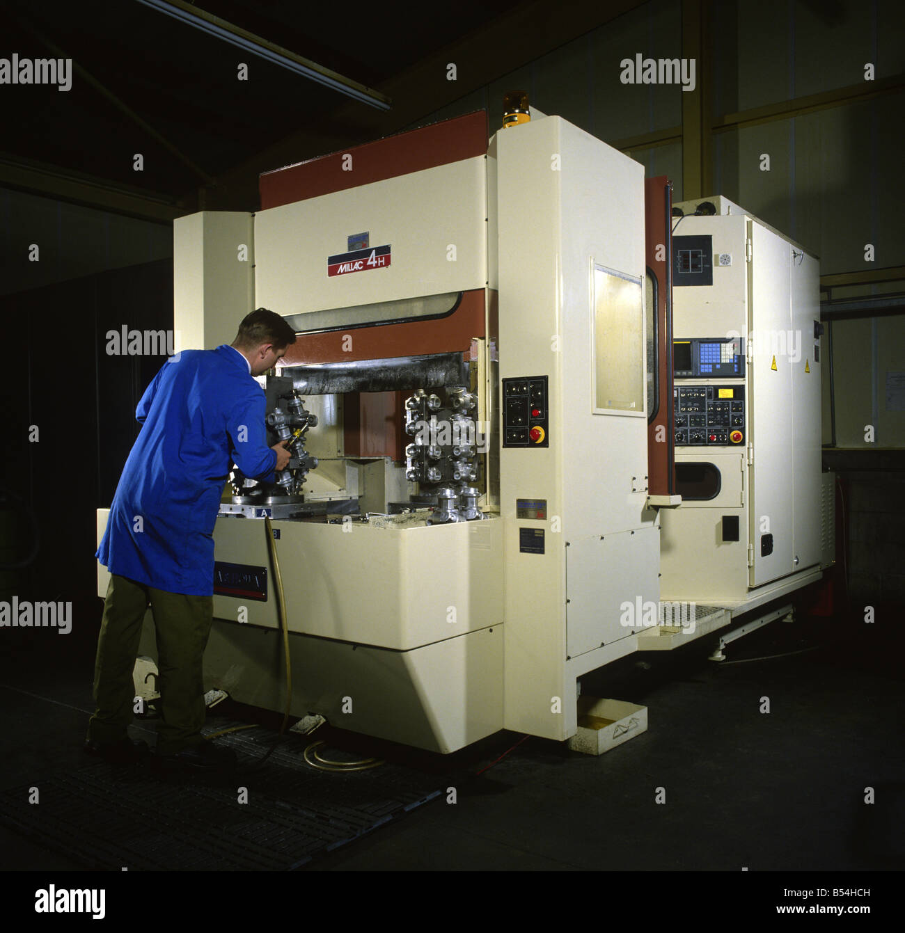 CNC Milling Machine - Stock Image