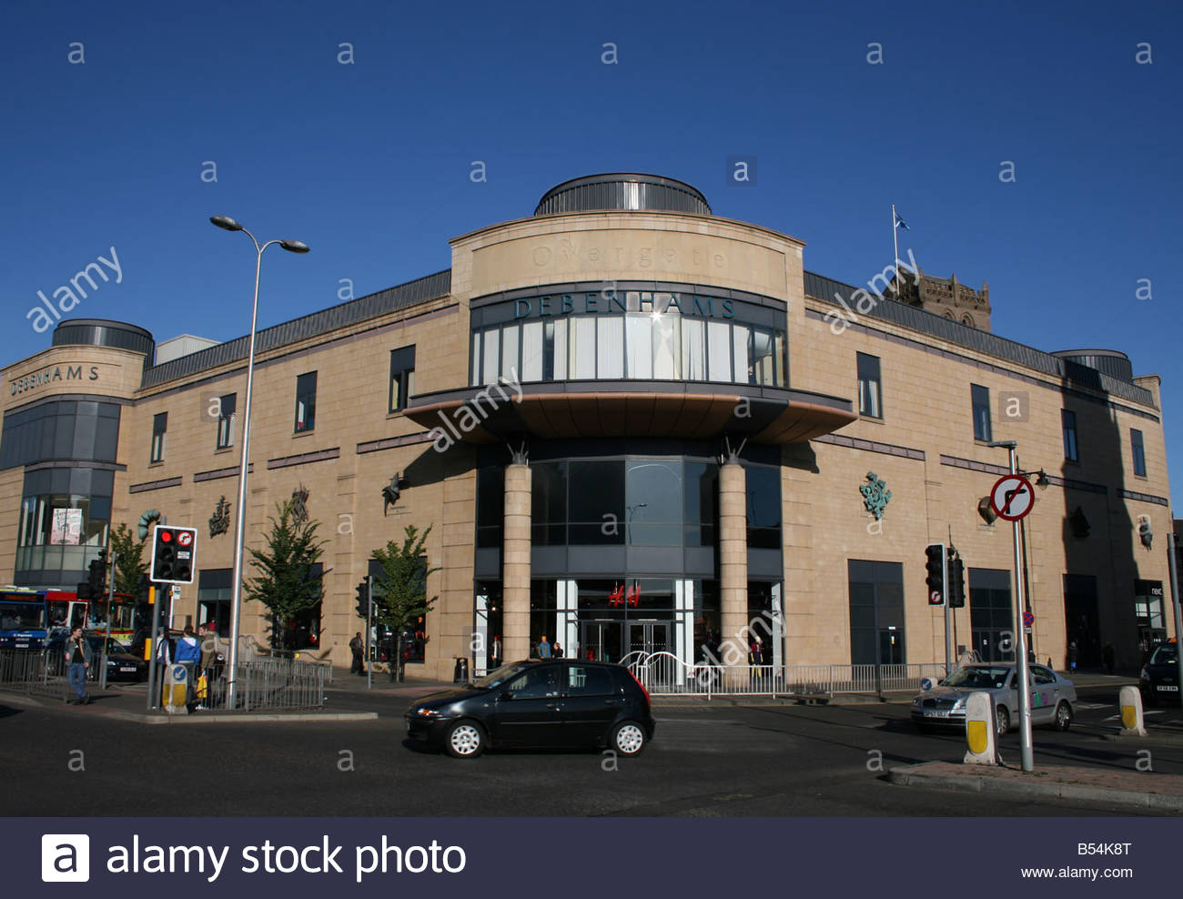 Exterior of Overgate shopping Centre Dundee Scotland Stock Photo