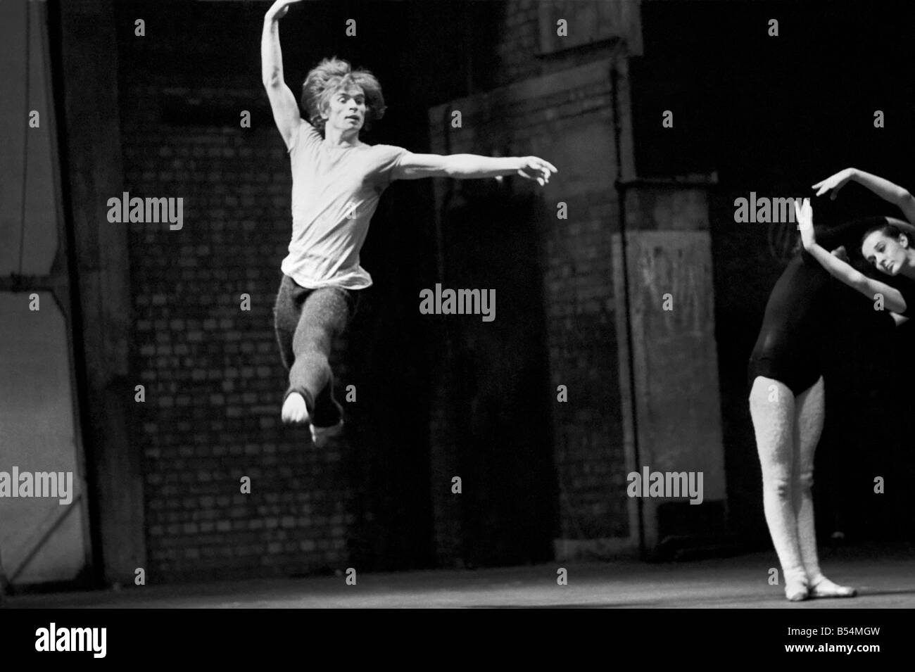 Entertainment dance. The Dutch National Ballet is giving it's first London season from the 1-6 December 1969 - Stock Image