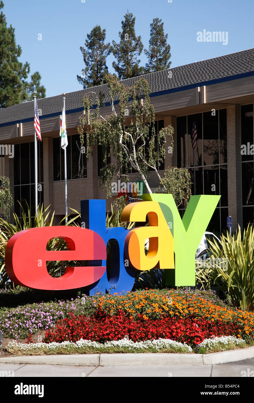 ebay corporate headquarters in San Jose California USA Stock