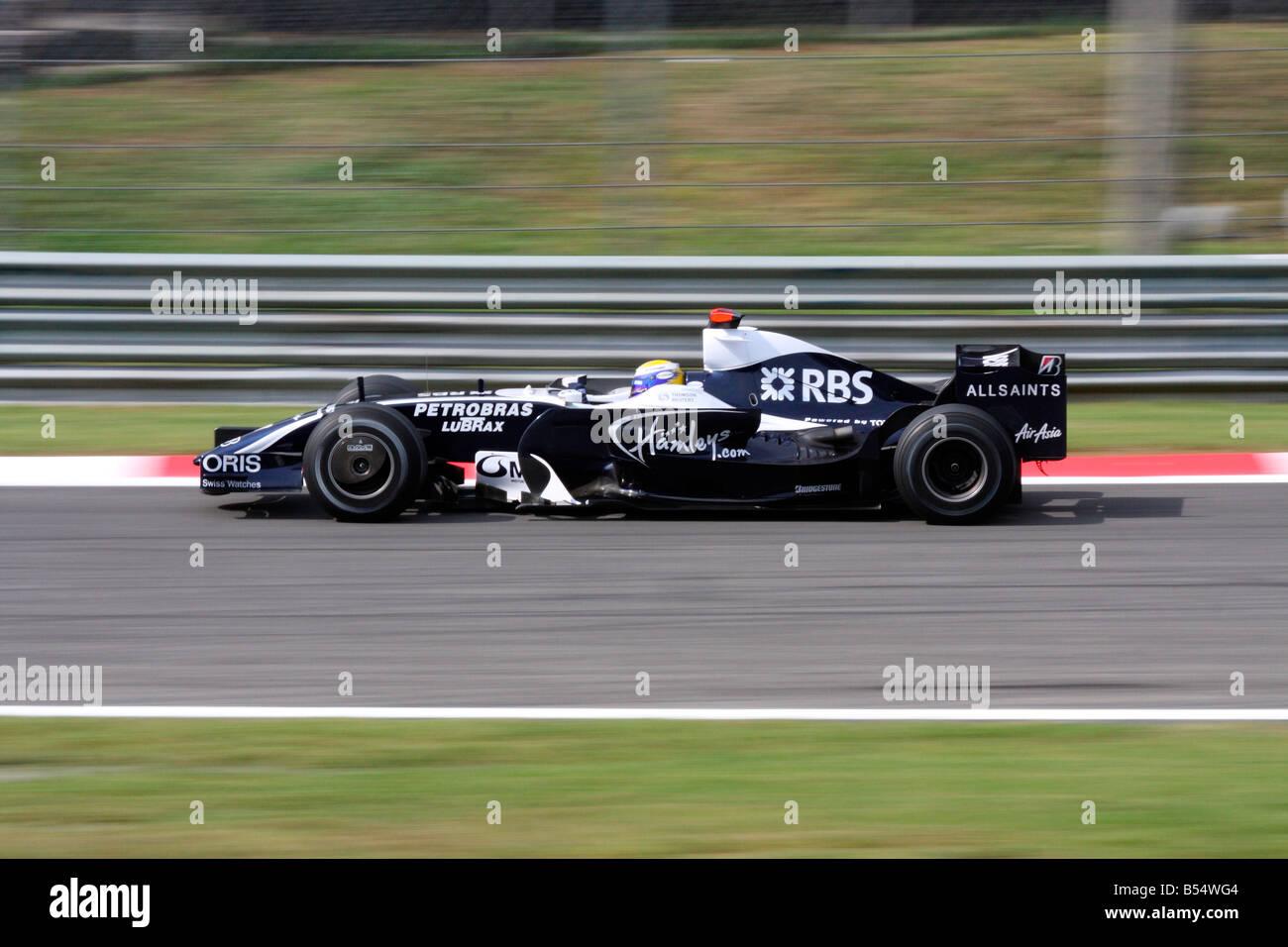 Nico Rosberg (GER), Gran Premio di Monza 2008 Stock Photo