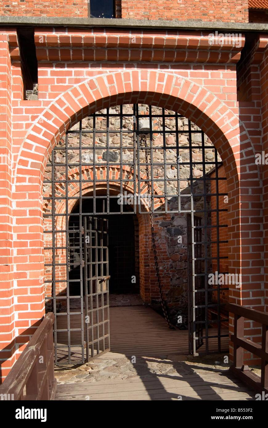Trakai Castle Lithuania - Stock Image
