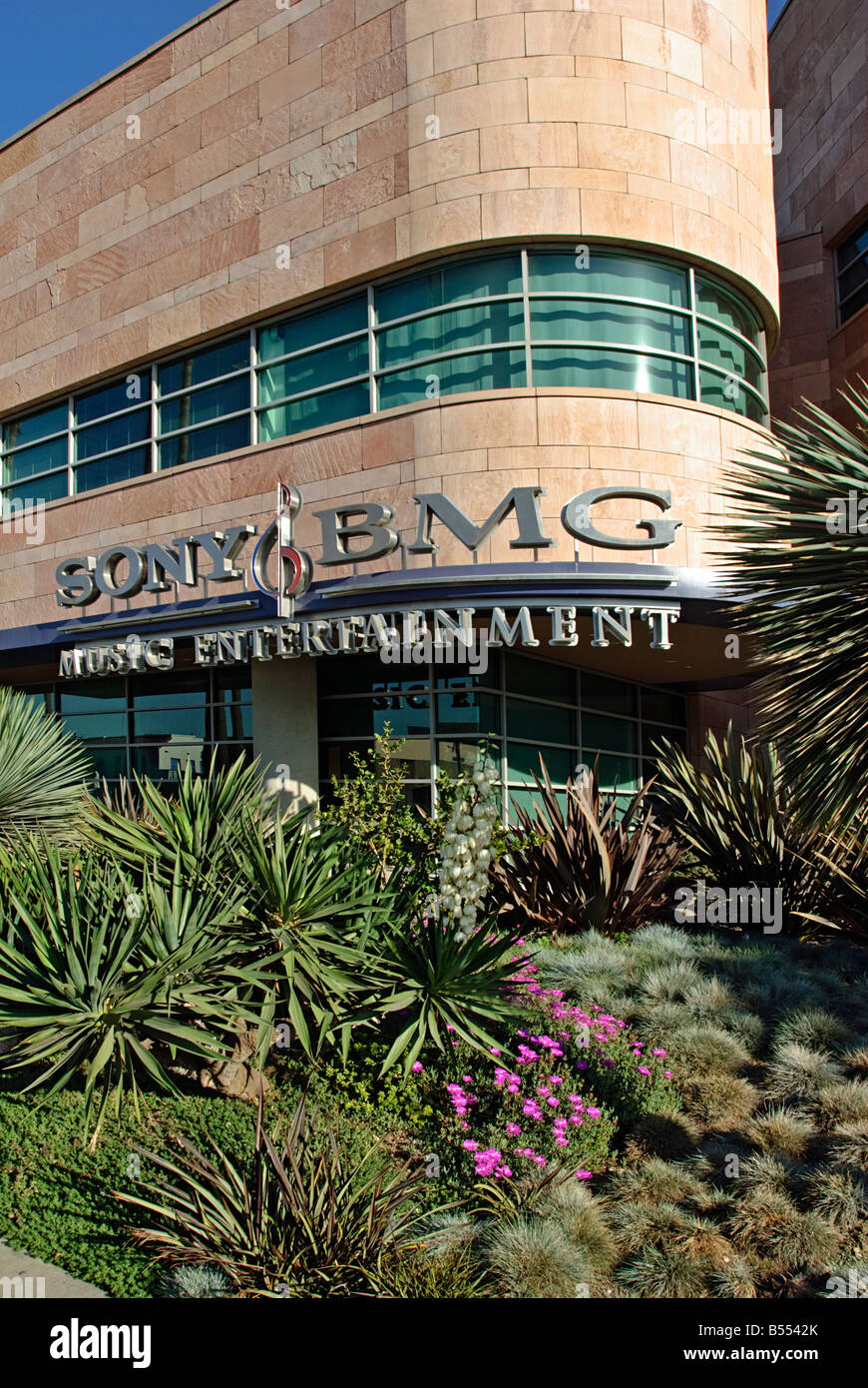 SONY BMG Music Entertainment Santa Monica CA California Stock Photo