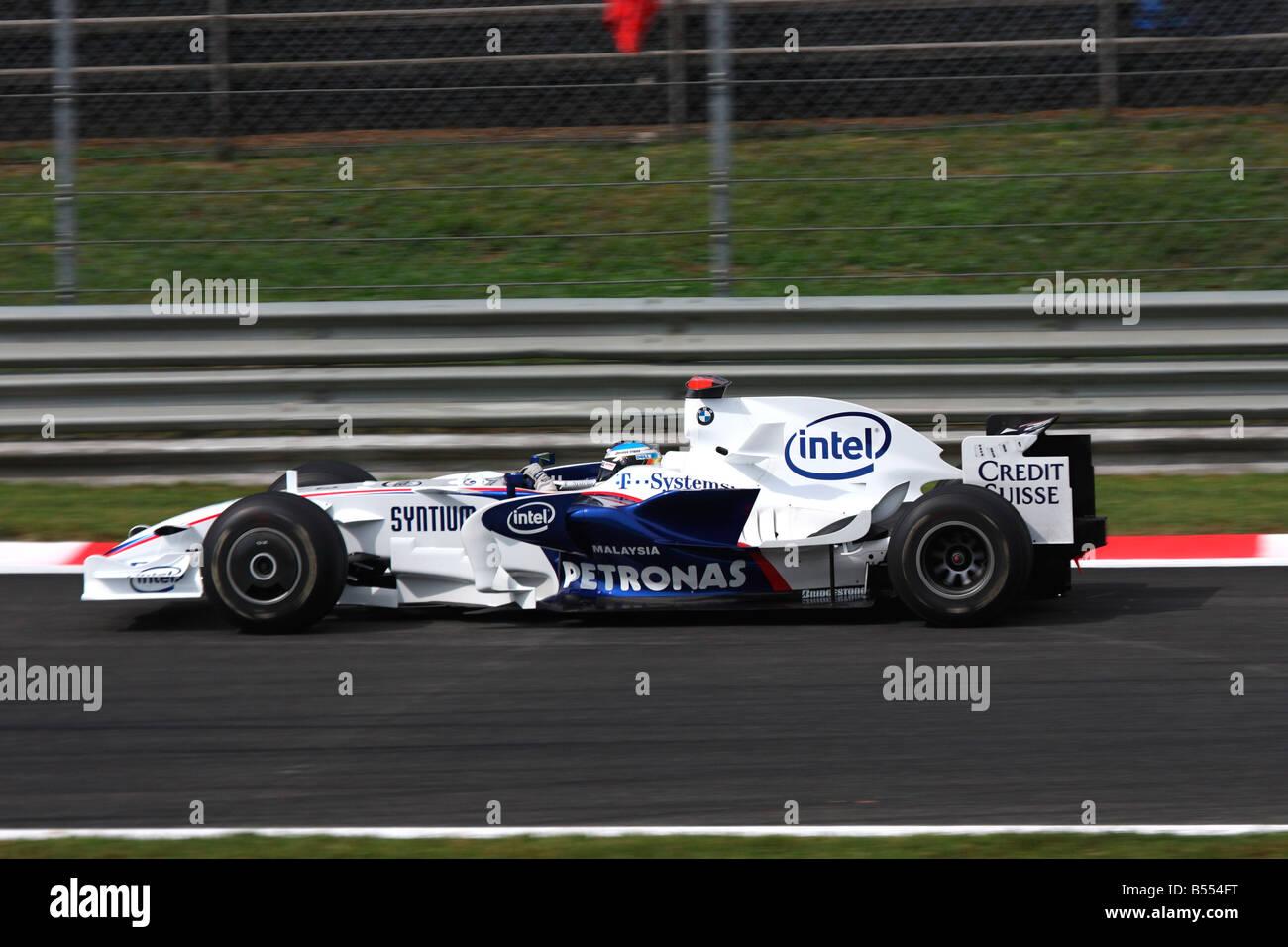 Nick Heidfeld (GER), Gran Premio di Monza 2008 Stock Photo