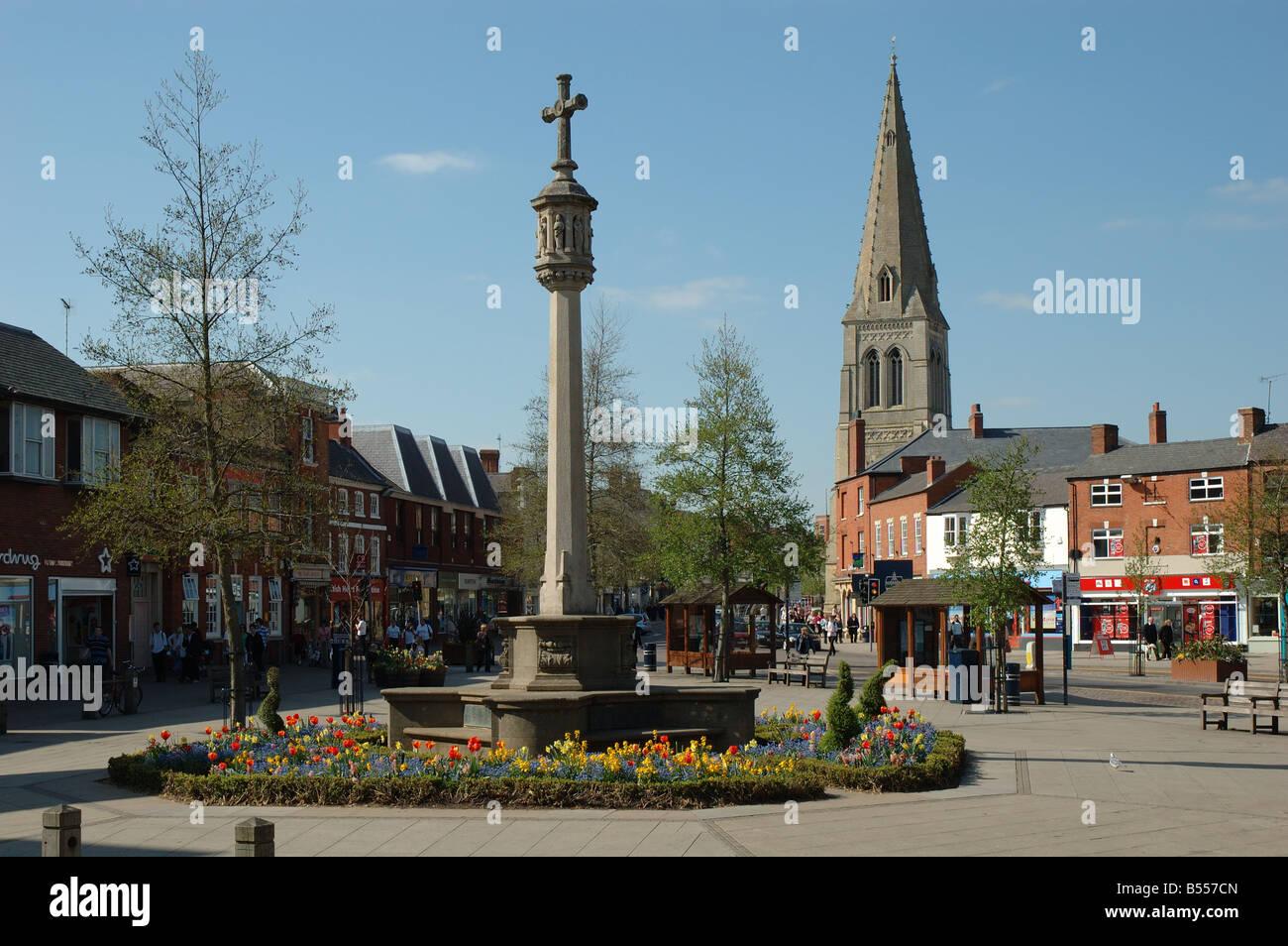 Market Harborough, Leicestershire, England, UK - Stock Image
