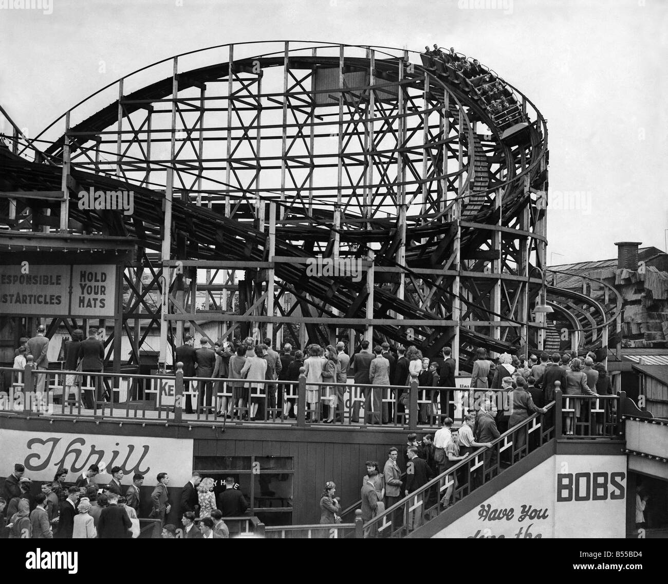 Manchester Belle Vue. May 1946 P012503 - Stock Image