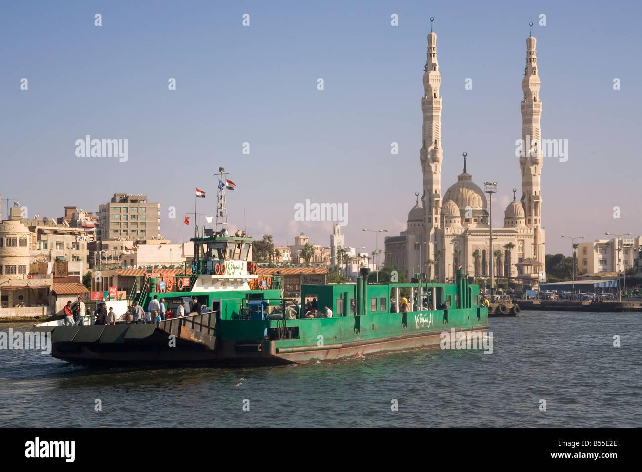 Egypt port said ferry across suez canal to port fuad stock photo egypt port said ferry across suez canal to port fuad publicscrutiny Gallery
