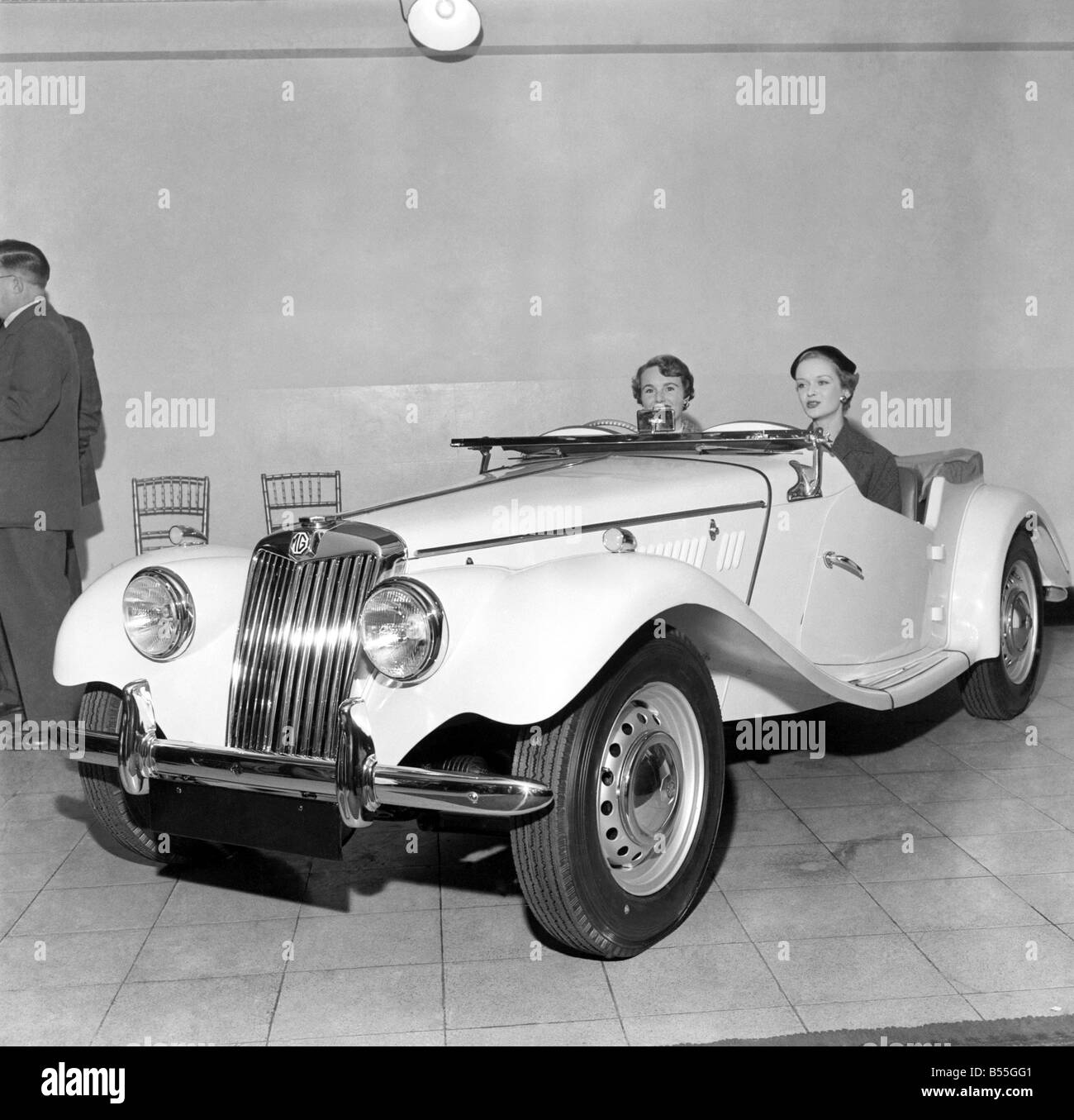 The new MG TF model. 
