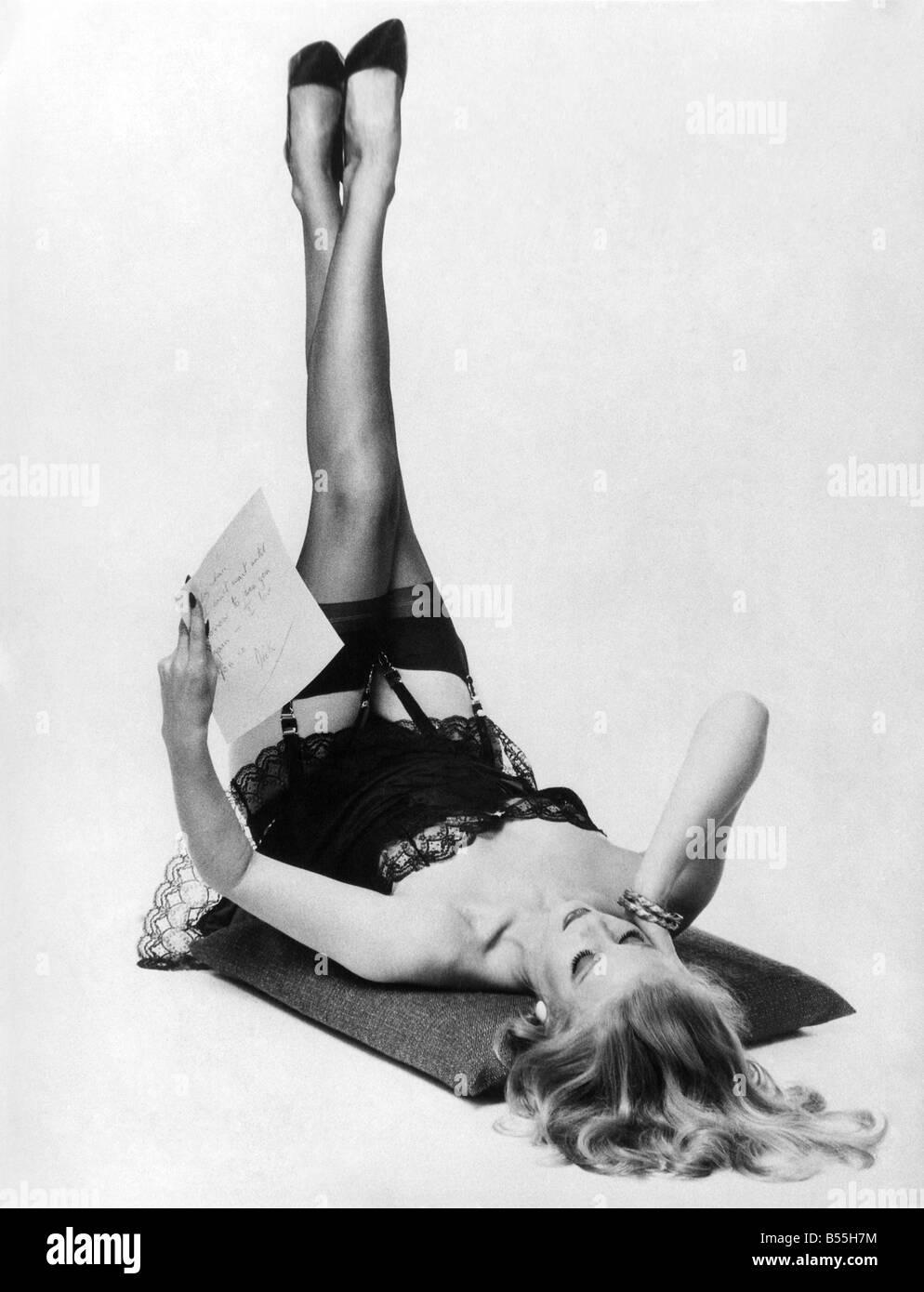 Vintage stocking models