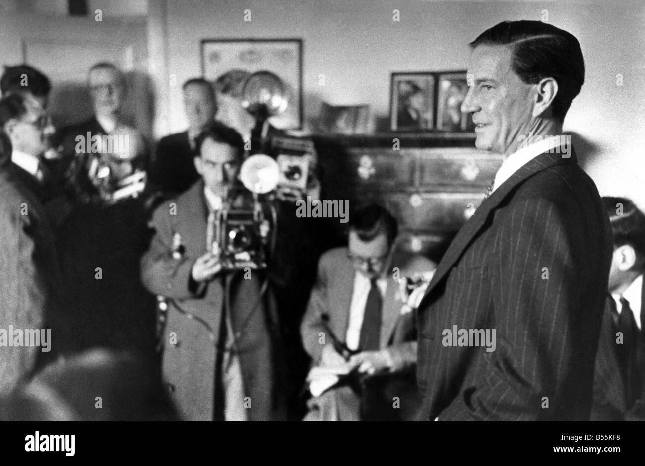 Soviet Spy Kim Philby. P009631 - Stock Image