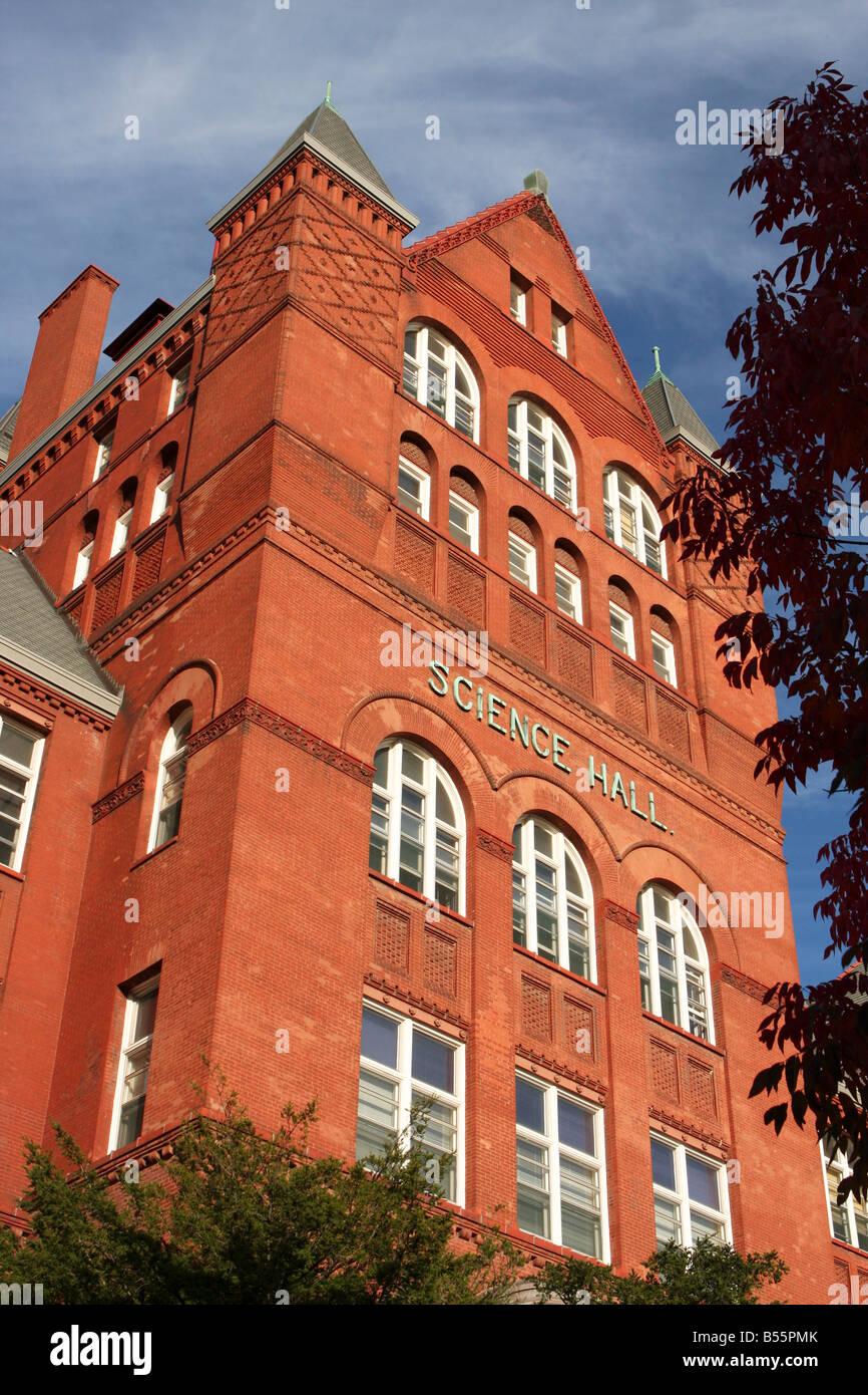 The historic Science Hall on University Madison campus Stock Photo